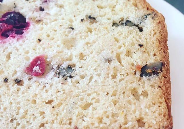 Cranberry + Pecan Bread