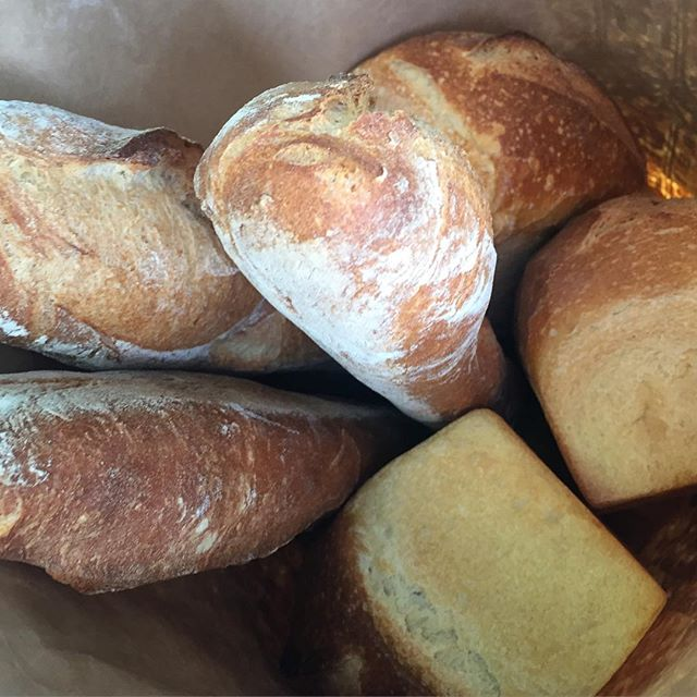 What makes Yali's sandwiches so good? Quality ingredients, such as five different options of delicious Acme bread, probably have something to do with it!