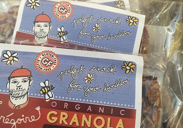 Granola bars from Grégoire's – a perfect addition to a Yali's panini or salad!