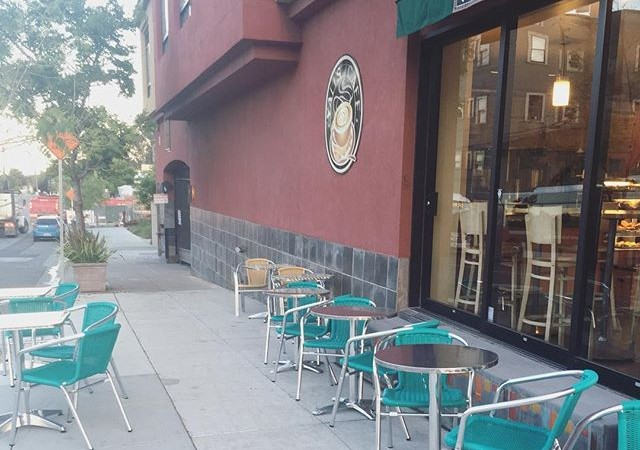 Good morning Berkeley! ️It's going to be a hot one today…come take advantage of all of our outdoor seating!